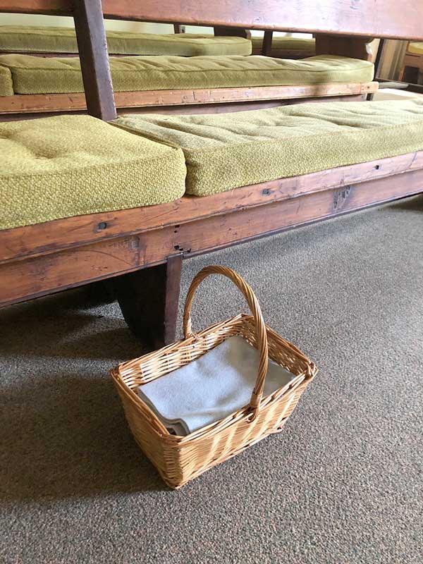 Faith & Play Basket and Bench